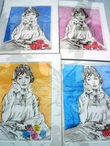 rose prints